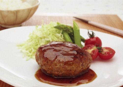 ひき肉のつなぎにクリープを使ったハンバーグ.jpg