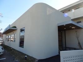 ブルーブルーカフェのお店の外観