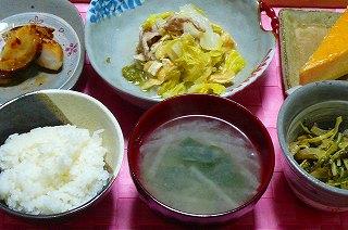 豚肉と白菜の酒蒸し煮