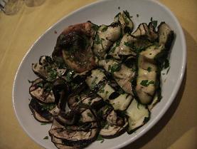 野菜のグリルの前菜