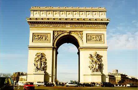 凱旋門のイメージ