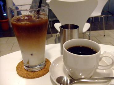 アイスコーヒー&ホット