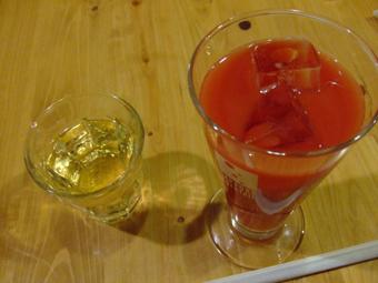 白ワイン&ブラッドオレンジ