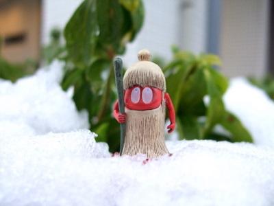 雪の倉ぼっこ