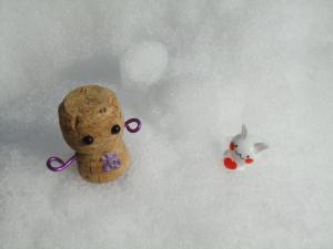 あゆみ子ちゃん 雪