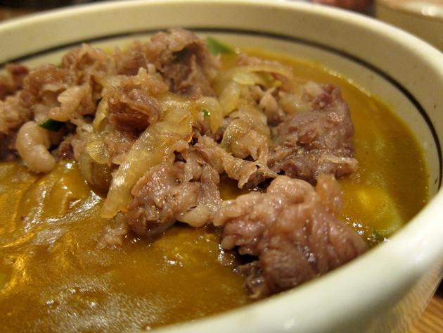 善 肉カレー