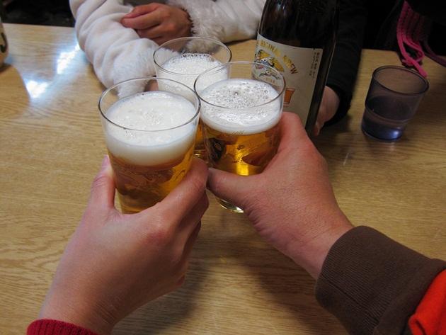 山田 乾杯
