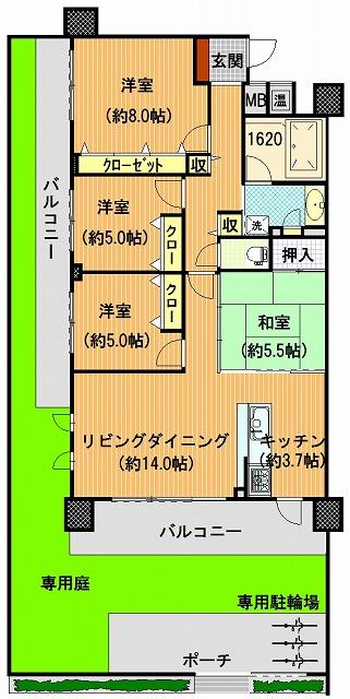 s-プレミスト番町101間取図