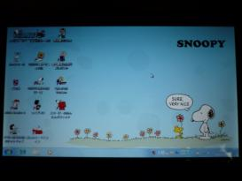 スヌーピー モバイルノートパソコン