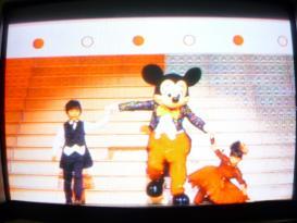 福くん&ミッキーマウス&愛菜ちゃん