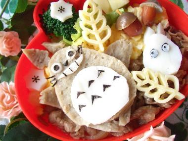 トトロ牛丼