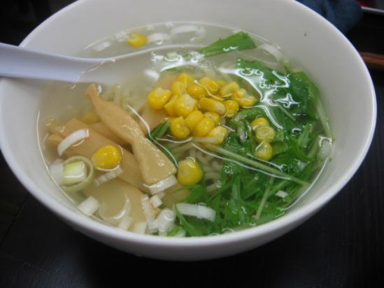 秋葉原 ミニ塩ラーメン+(1)