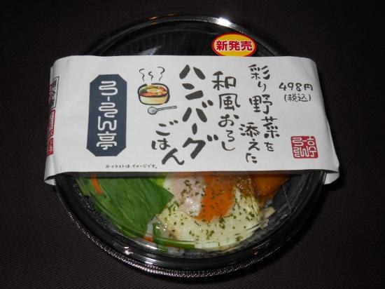 和風おろしハンバーグ (1)