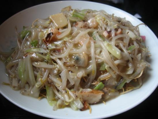 A9 ばってん亭+皿うどん細めん大盛り+(1)