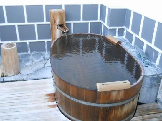 嵯峨沢館風呂