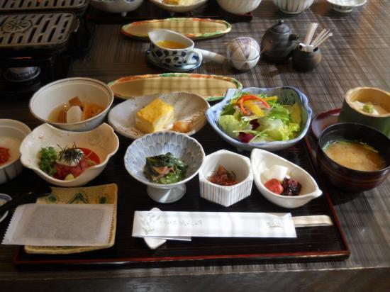 嵯峨沢館朝食 (2)