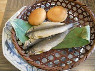 嵯峨沢館朝食 (1)