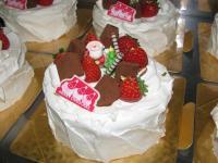 2007.12.25クリスマスケーキ