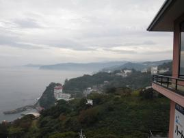 伊豆の海の眺めがきれい