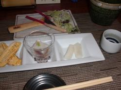 そば味噌で昼酒