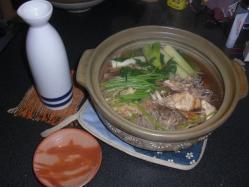 きりたんぽ抜きの鍋