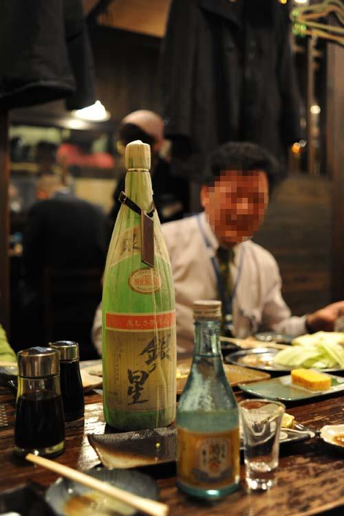 焼酎と日本酒