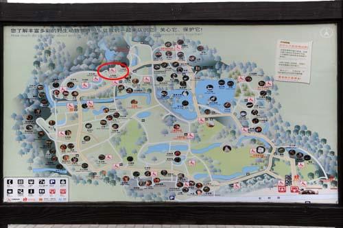 上海動物園マップ