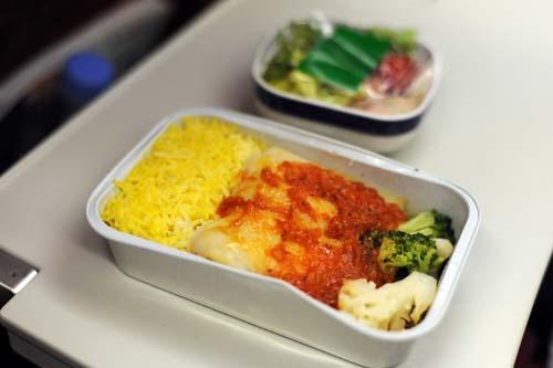 R・Mさんの機内食