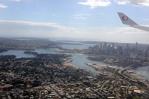 シドニー到着