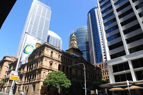 シドニーの町並み