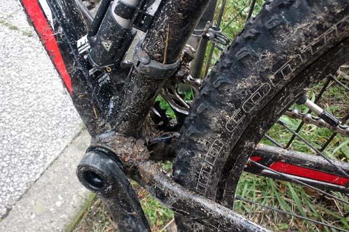 ドロドロな自転車