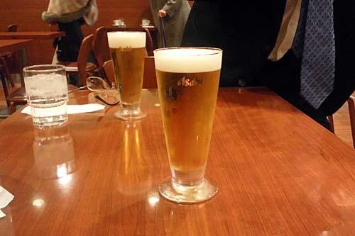 ビール(小)