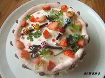 0302 野原のケーキ