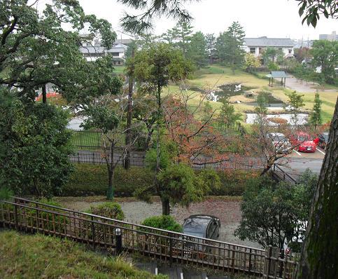 5 奈良ホテル・西側の庭
