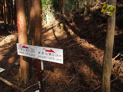 9 峰坂峠(鞍部)