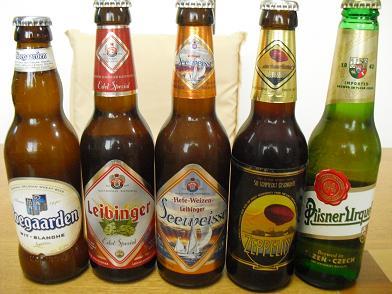 5 ドイツ・チェコ・ベルギーのビール
