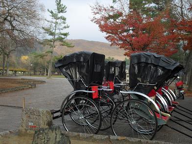 7 奈良公園・人力車