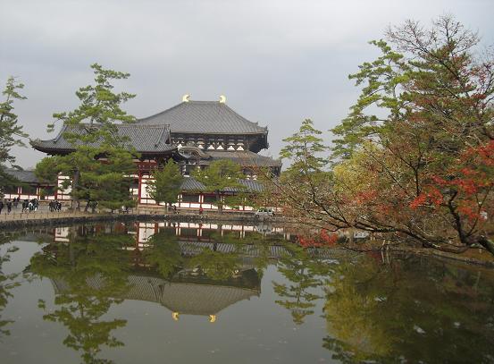 13 東大寺・大仏殿・鏡池