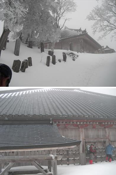 12 大峰山寺本堂