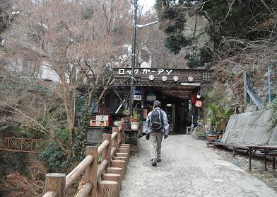 2 滝の茶屋手前