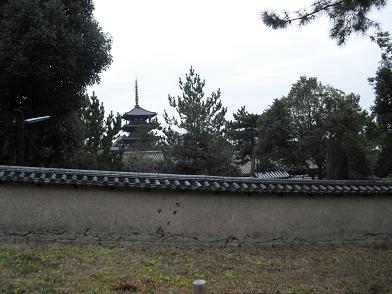 10 西院伽藍・五重塔