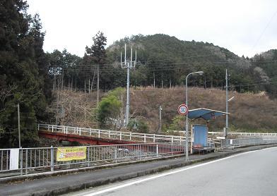 3 栃ケ山・登山口