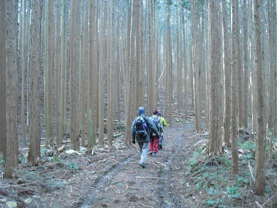 7 櫃ケ岳へ向かう
