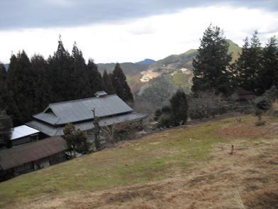 10 平山垣内の民家