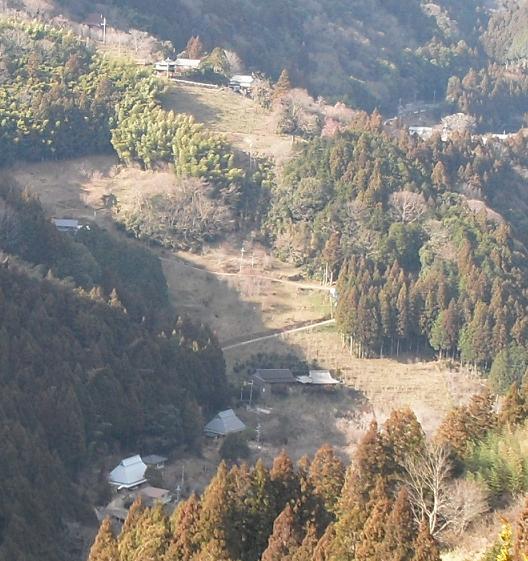 14b 西吉野の集落