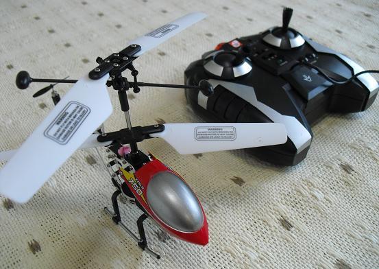 2 IRヘリコプター、送信機