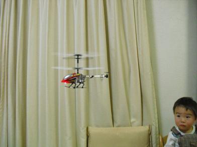 5 飛行中のヘリコプター