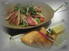 ○サラダ&お魚○