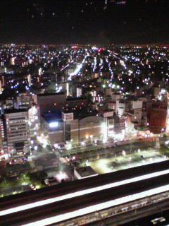 23階からのビックカメラ