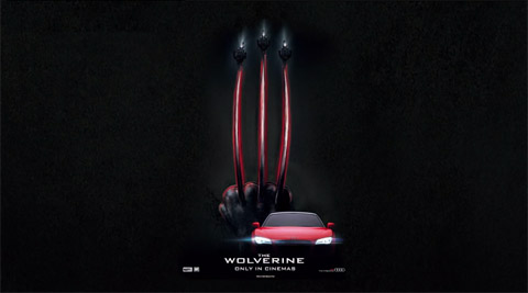 Audi and Ducati - The Wolverine Movie Trailer